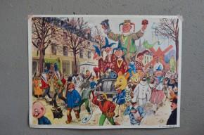 Les rétro-projecteurs puis les tablettes les ont remplacées au fil des décennies, mais la mémoire collective garde en tête l'image de l'instituteur en tablier gris, perché sur son estrade, une baguette en bois pointée vers ces affiches d'école… Figurant des scènes de vie, des planches de biologie animale ou végétale ou retraçant l'histoire de France, ces panneaux des années 50 permettaient d'illustrer les cours aux bambins, avant l'arrivée des manuels scolaires. Aujourd'hui, pas question de colle surprise ni de leçon d'élocution, on savourera simplement la douceur des images, les couleurs pétillantes et la nostalgie d'une époque… et parfois sa cocasserie aussi!
