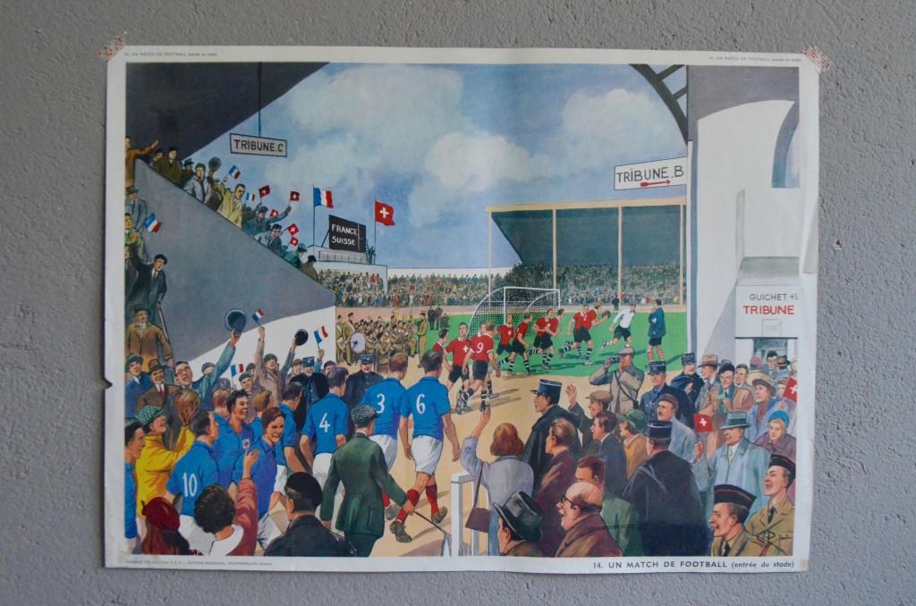 """Affiche pédagogique """"Le Football – L'Automne"""""""