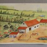 """Poster pédagogique """"La laiterie – La ferme"""""""