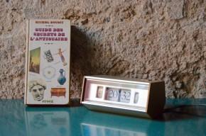 Réveil vintage années soixante dix Copal design Japon Flip Clock électrique
