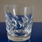 Verre ou Gobelet à Whisky ou whiskey Lalique France cristal verrerie d'Art art déco