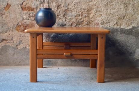 Table basse carrée scandinave danoise CFC Silkeborg design moblier scandinave