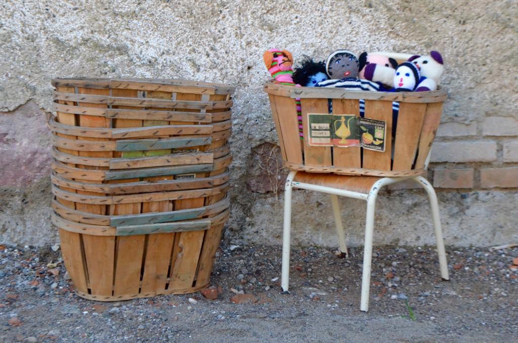 Duo de paniers à fruits Sidi