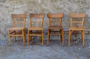 Chaise, chaises, bistrot, rétro, restaurant, rustique, lot, série, pro, livraison,