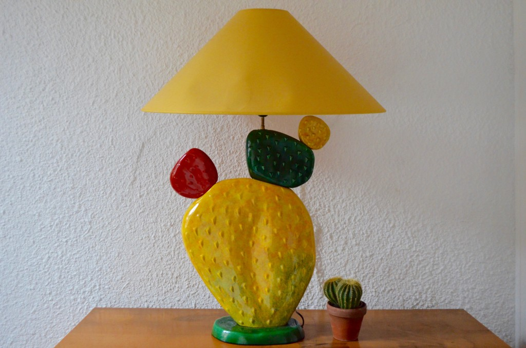 Lampe Cactus XXL de François Chatain