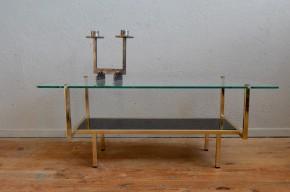 Table basse moderniste travail français des années soixante dans le gout des production de Georges Frydmann pour EFA