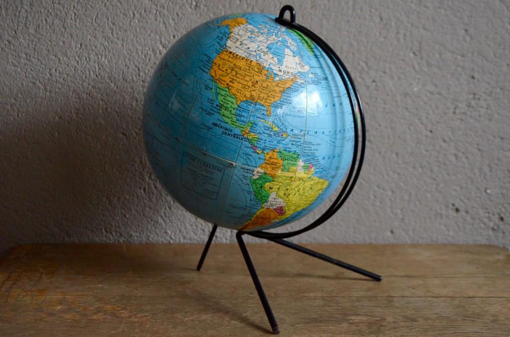 globe terrestre girard et barr re l 39 atelier belle. Black Bedroom Furniture Sets. Home Design Ideas