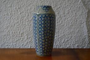 GranVase 1900 style art nouveau jugendstil forme obus ginko