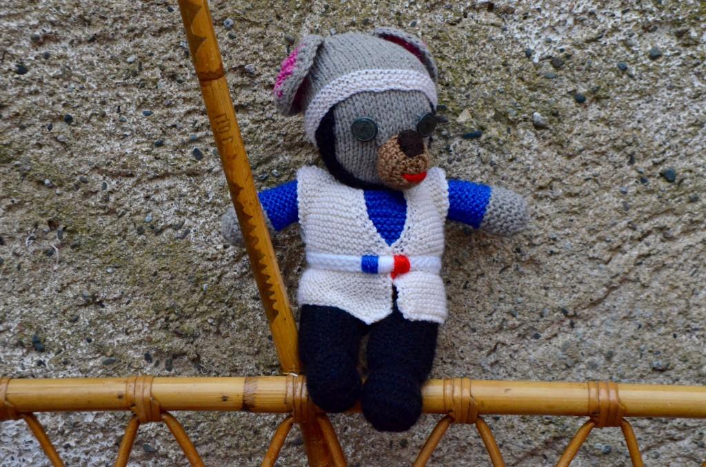 """Poupon au crochet """"Gaspard"""""""