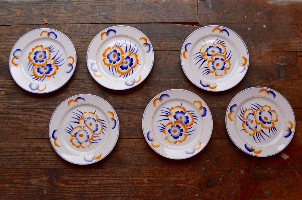Assiettes plates Verviers