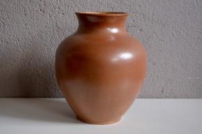 Vase en grès Ernenwein marmoutier alsace décoration Wasi sabi sobre céramique signée