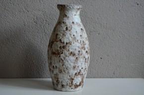 Vase pichet années 60 allemand signé Bay W germany numéroté collaction déco design allemand blanc