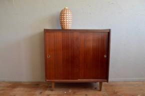 Bahut enfilade meuble à chaussures vintage rétro années 50 pieds compas vintage rétro antic french furniture shoes chest midcentury