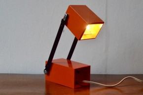 Verner Panton design for Louis Poulsen LamPetit orange année 1960 vintage danish design modern