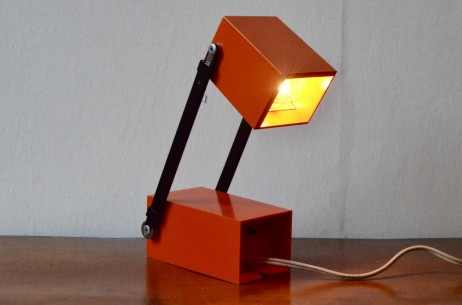 Verner Panton design for Louis Poulsen LamPetit orange année 1960 vintage danish design modern