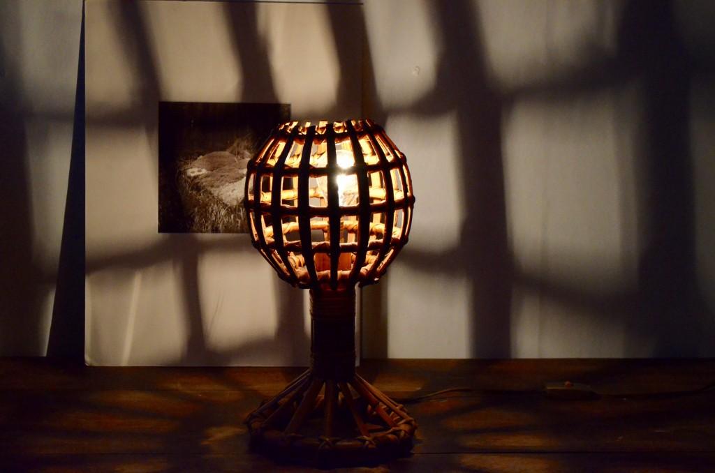 Lampe en rotin Emmanuelle