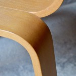 Chaise scandinave design original tout contreplaqué