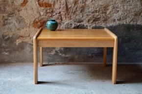 Table basse carrée scandinave suéde Yngve Ekström modernist furniture scandinavia editeur Swedese