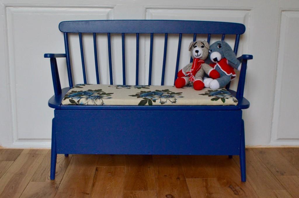 design de qualité c6d4a b16df Banc-coffre Léonard - L'atelier Belle Lurette, Rénovation de meubles vintage