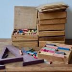 Boîte de calcul Montessori