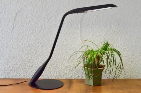 Lampe de bureau articulée cobra de Philippe Michel pour Manade Paris Travail français des années 1980