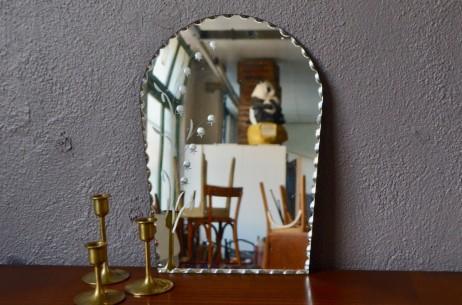 Miroir biseautés vintage rétro bohème années 50 Paris Belle époque art déco french wall decoration