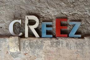Lettres en métal enseigne vintage rétro années 50 indus brocante déco advertising letters french deco midcentury