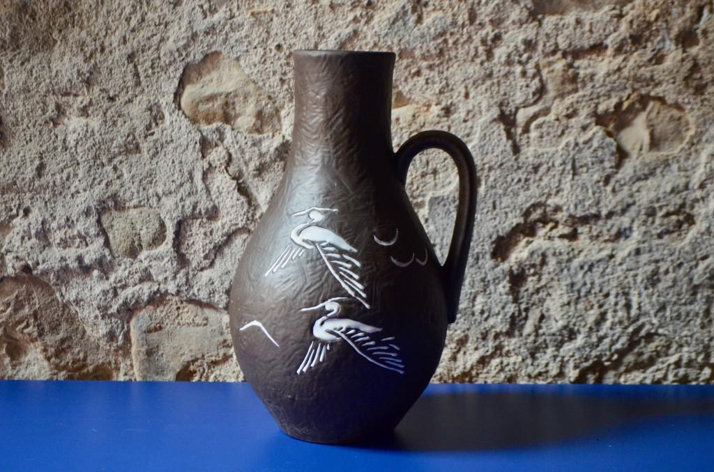 Vase aux oiseaux 43/35