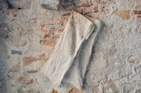 Sac à pain rétro en toile de coton boulangerie sac postal années 30 déco objet de métier
