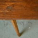 Banc en bois rétro bohème vintage antic wooden bench bohemian deco rustique