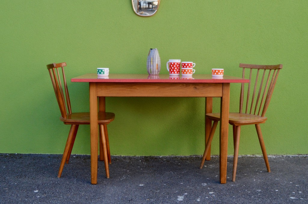 Table Formica ® Rouge