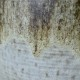 Grand Vase Carstens années 60 allemand signé fat lava minéral style brutaliste
