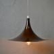Lampe Suspension Plafonnier scandinave design organique en métal forme trompette