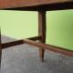 Table de drapier mobilier de ferme meuble de métier décoration bohème grande table en bois vintage rétro
