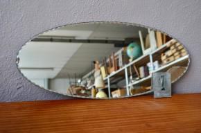 Miroir biseauté vintage rétro années 40 bohème art déco