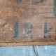 Caisses en bois publicitaires tiroirs d'atelier indus brocante épicerie