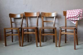 Rétro lot de chaises bisrtot des années 60 mix and match dépareillées pour  restaurant cuisine bar...