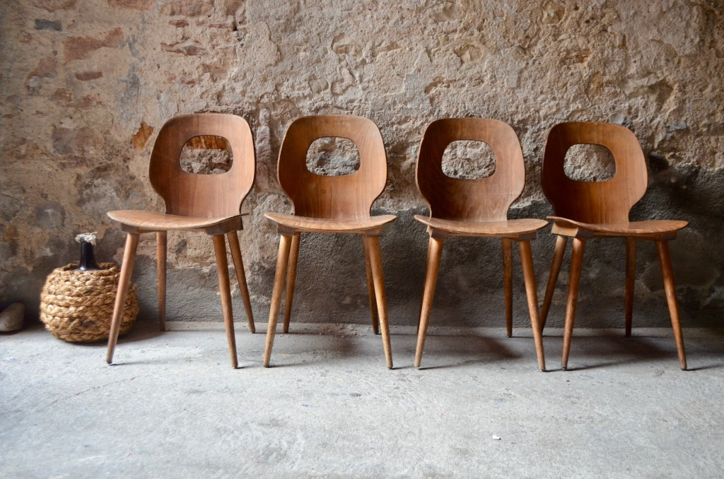Série de chaises Baumann