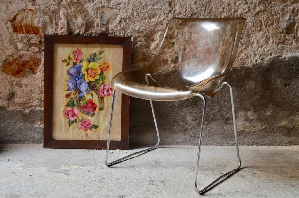 Chaise en Perspex