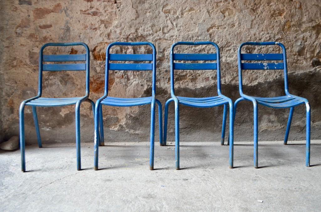 Chaises industrielles Aïda