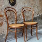 Paire de chaises n°14 Fischel