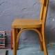 Petite chaise enfant des années cinquante vintage rétro scolaire