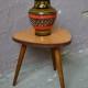 Guéridon vintage tripode porte plante ancien années cinquante