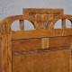 Petite armoire meuble de pharmacie art nouveau art déco années 30 en bois meuble de salle de bain déco bohème rétro vintage