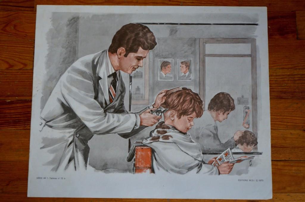 """Affiche pédagogique """"Métiers"""""""