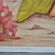 Affiche poster enfant bébé chambre illustration style Waldorf Montessori thème musique opéra ballet et conte