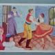 Couleur, candeur, douceur habilleront les murs de la chambre des bambins grâce à ces superbes affiches vintage des années 50-60... Pièces d'opéra connues, contes adaptés en ballets extraordinaires, fantaisies lyriques, ces tableaux scolaires évoquent les grands airs de la musique classique. Dessins doux et couleurs tendres, les traits évoquent les illustrations issues de la pédagogie Waldorf-Steiner. Voilà qui fera rêver ou danser petits et grands!