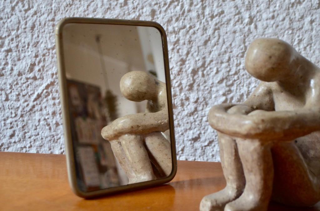 Miroir de barbier Xavier