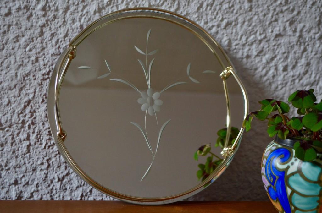 Plateau miroir Fleurus
