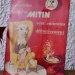 Plaque publicitaire Mitin